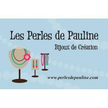 LES PERLES DE PAULINE à Condat, bijouterie et boutique en ligne de perles et de bijoux en perles à Condat.