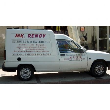 Artisan M K RENOV Cahors, artisan de travaux et de rénovation intérieurs et extérieurs à Cahors