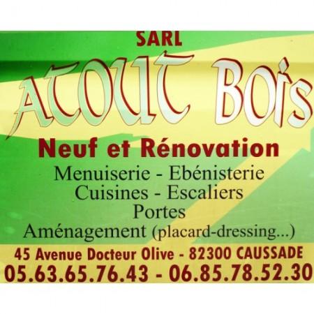 ATOUT BOIS Caussade, menuiserie, ébénisterie à Caussade.