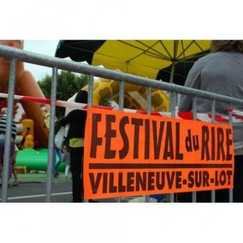 FESTIVAL DU RIRE 47 Villeneuve sur Lot, festival d'humour, festival comique, artistes comiques confirmés et jeunes talents.