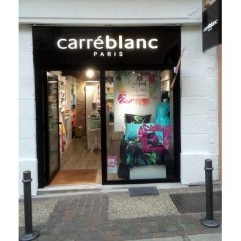 CARRE BLANC à Cahors, linge de maison, linge de lit et linge de table à Cahors.