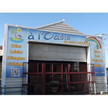 A l'OASIS Cahors à Espère, déstockage, déco, loisirs, ménager, cuisine, brico, bois, plein air, jardin