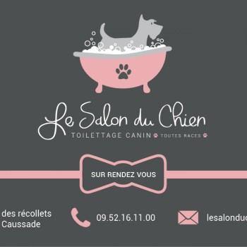 LE SALON DU CHIEN Caussade, salon de toilettage pour animaux à Caussade
