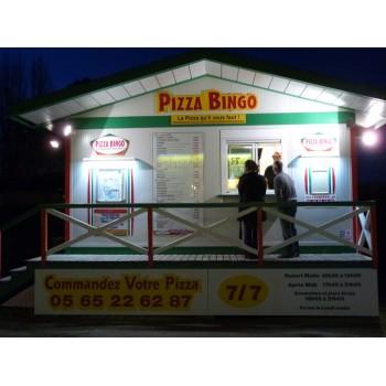 Pizzeria PIZZA BINGO Cahors, pizzeria de pizzas en tout genre à Cahors.