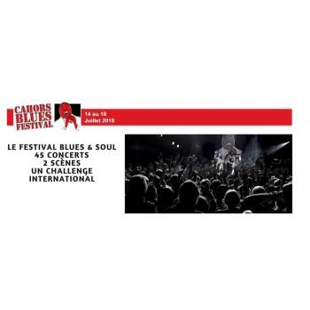 Le Cahors Blues Festival créé en 1982, est le plus ancien festival de Blues en France. Connu à travers toute l'Europe, ce festiv